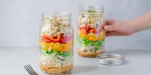 salade pot asiatique